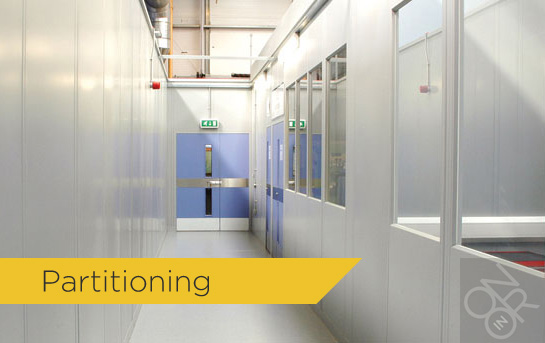 Mesh & Steel Partitioning Systems